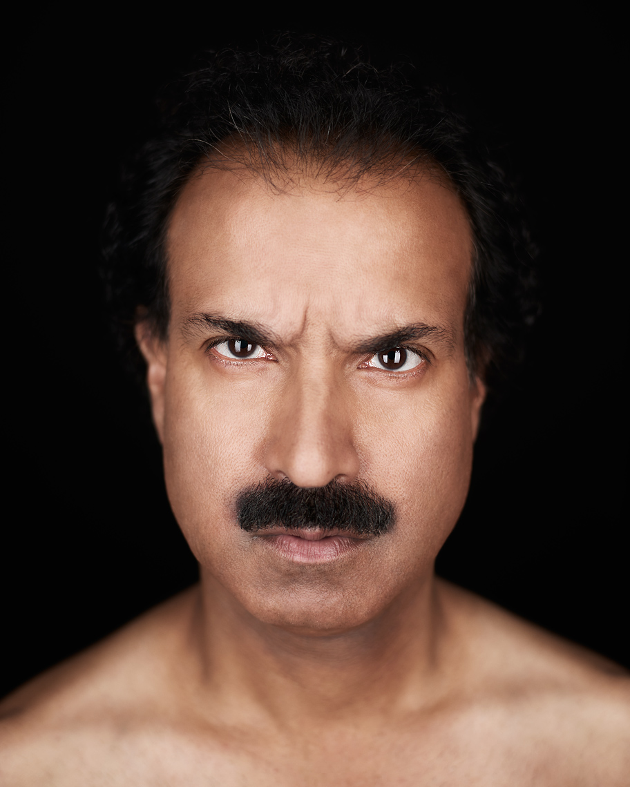 Portrait of actor Anthony Prasad.