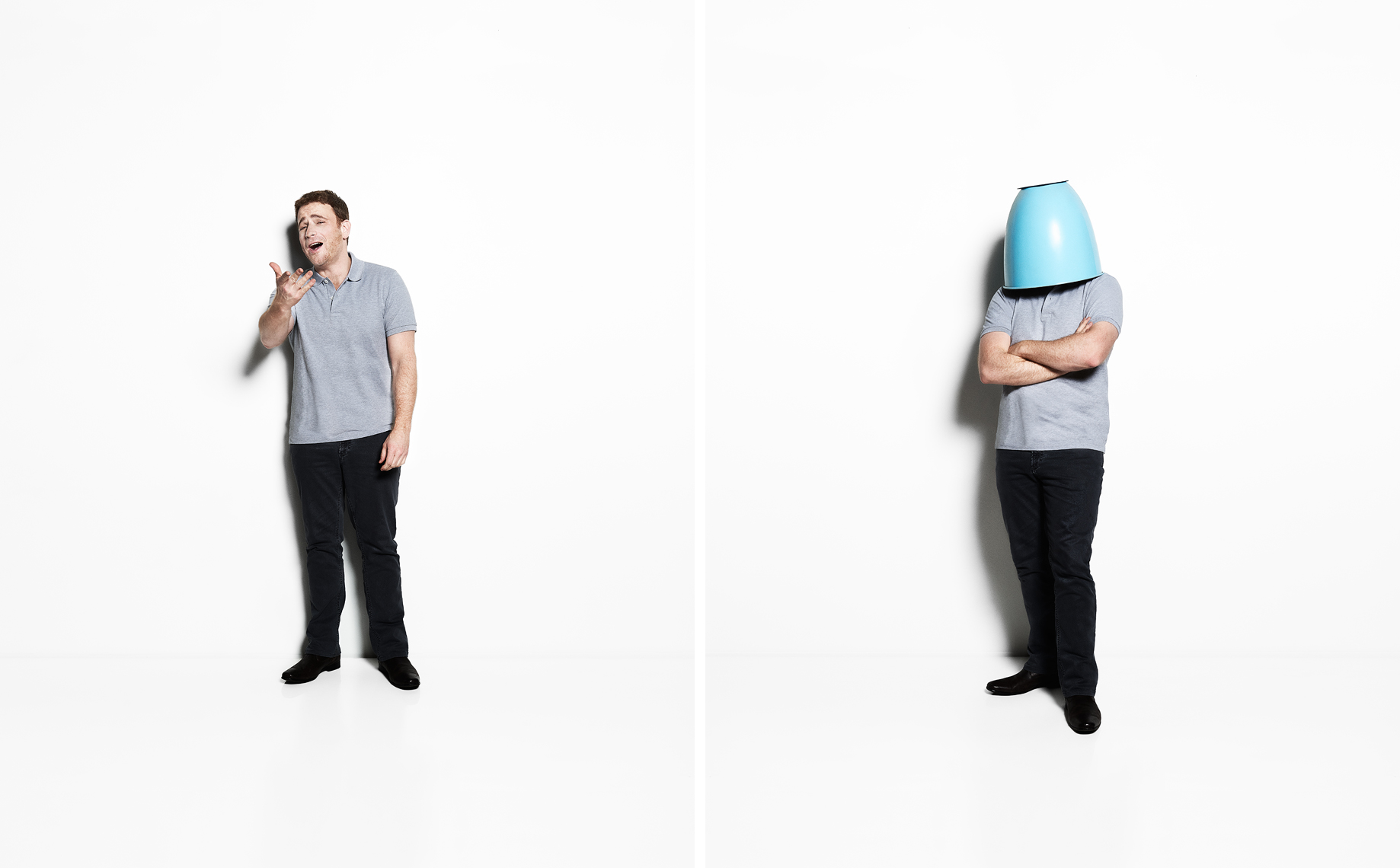 Editorial Portrait of Slack CEO Stewart Butterfield