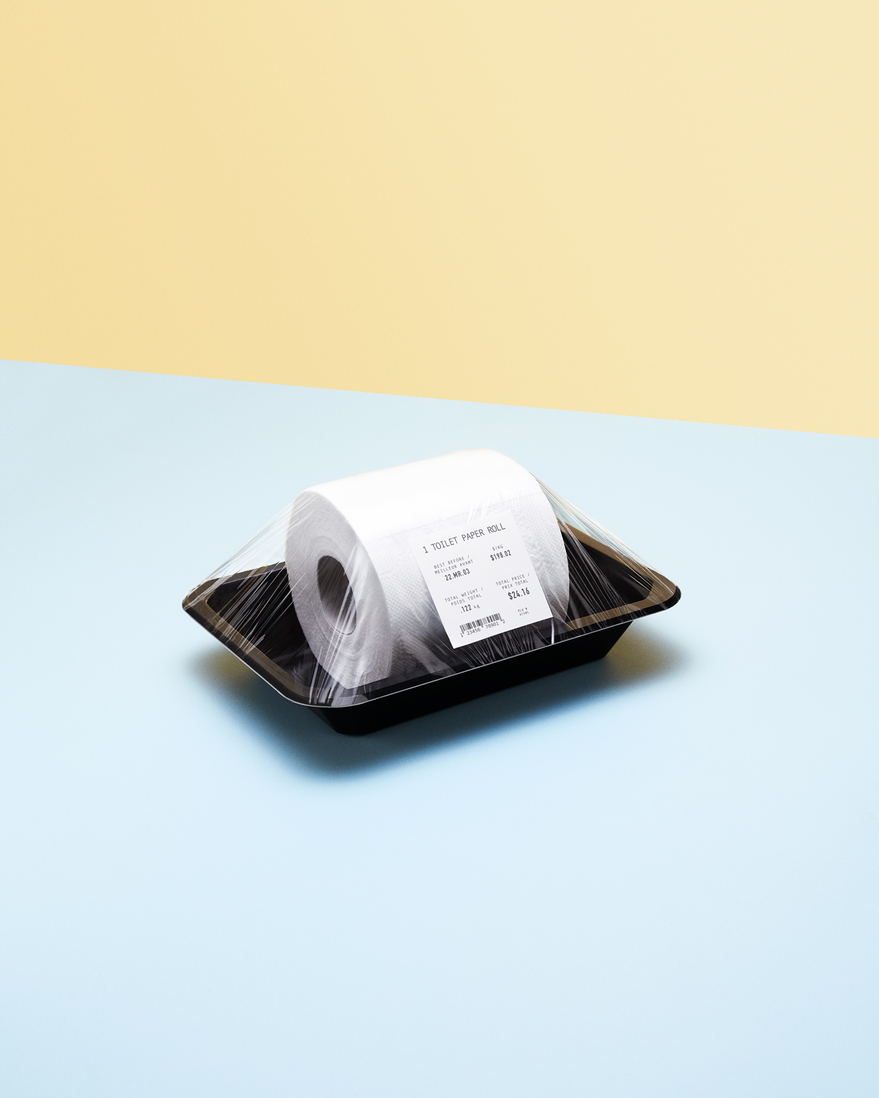Expensive Toilet Paper - Still Life Photography