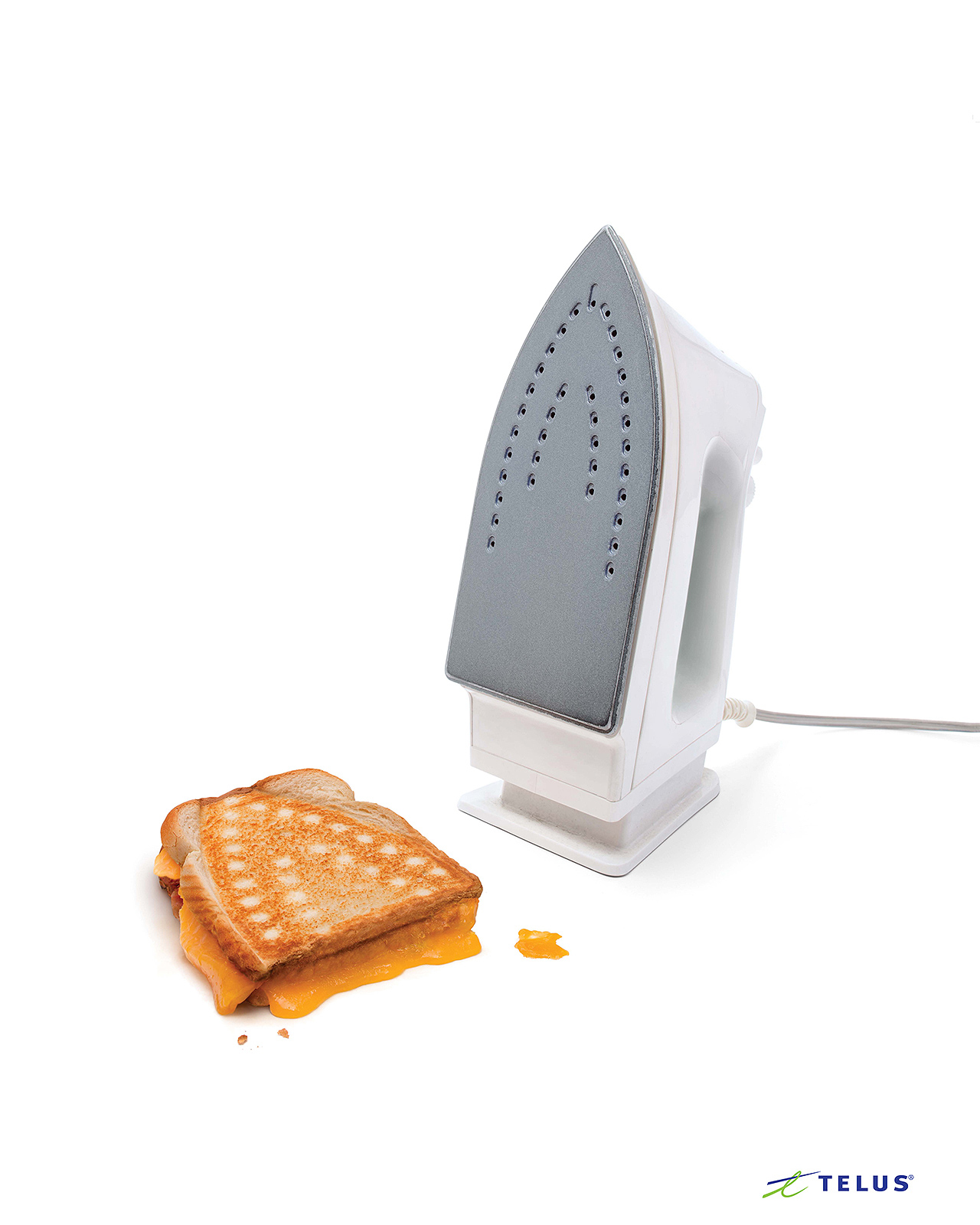 Telus - Grilled Cheese - Back To School Campaign - Advertising and Commercial Photography