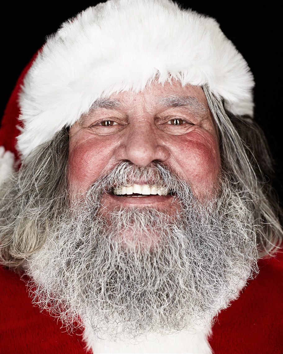 Santa Portrait Of Vancouver Actor Frank Crnkovic