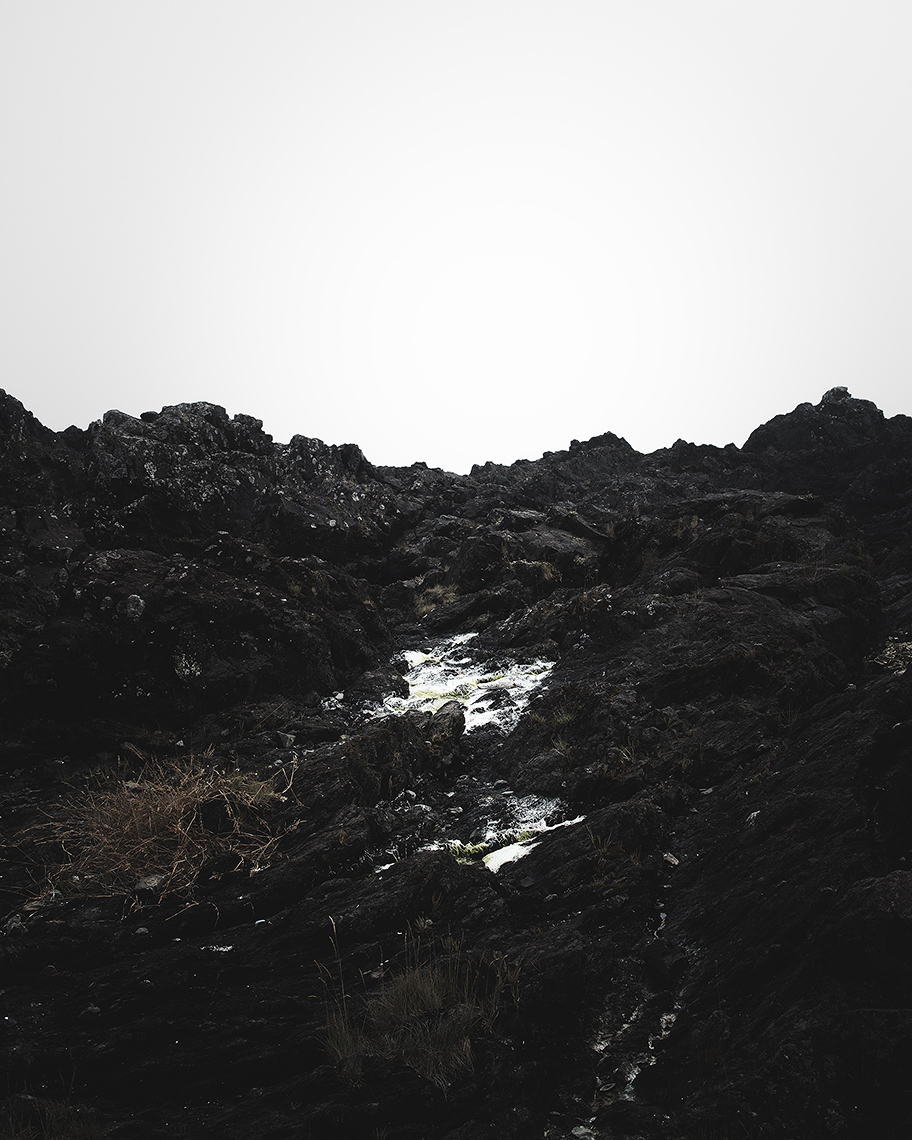 IV - Black Rocks, Ucluelet // Your arms full, and your hair wet, I could not