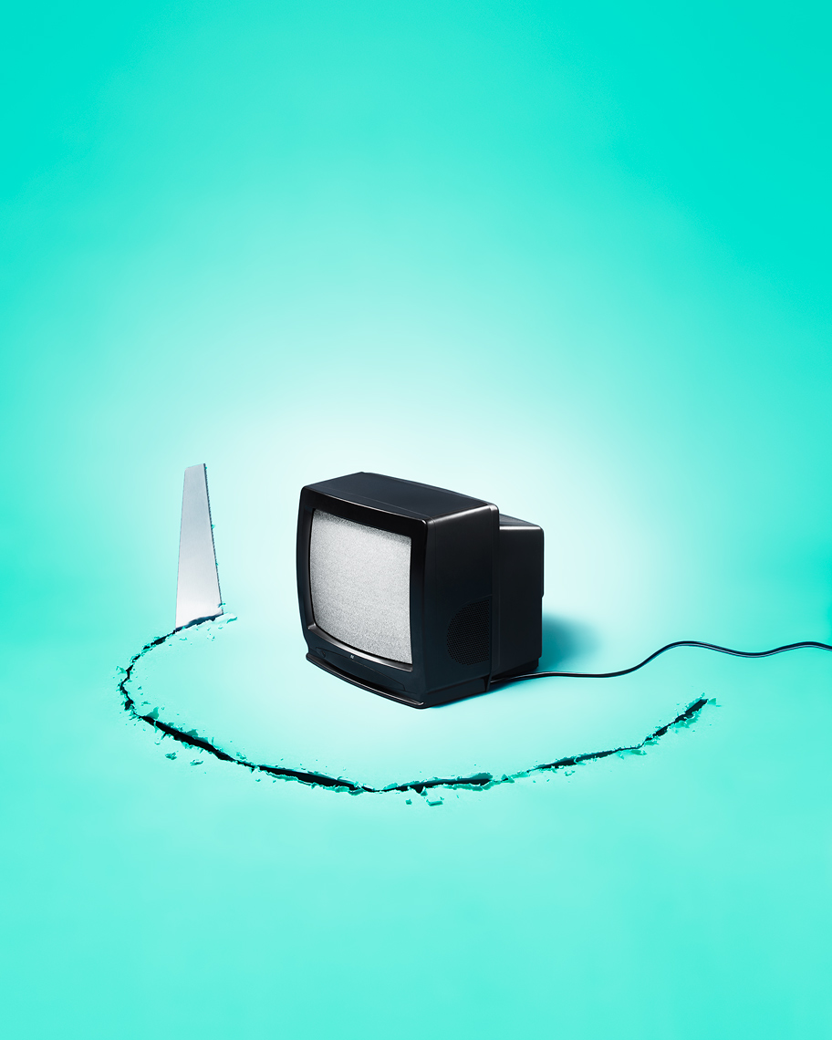 TV by Vancouver based conceptual photographer Jens Kristian Balle